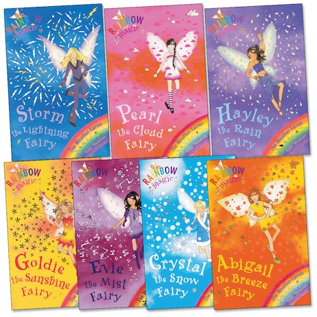 Rainbow Magic: Weather Fairies Pack