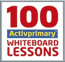 100 Activprimary Whiteboard Lessons
