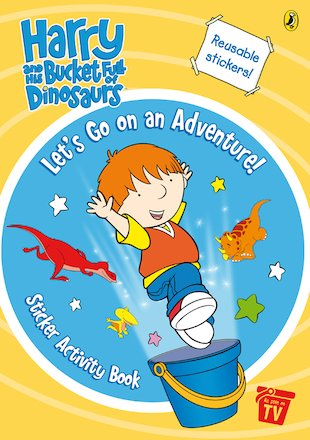 Harry and the Dinosaurs Sticker-Activity Book
