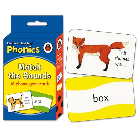 Ladybird Phonics: Match the Sounds Flashcards