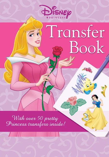 Disney Princess Transfer Book