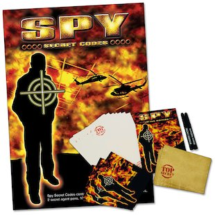 Spy Secret Codes Communication Kit