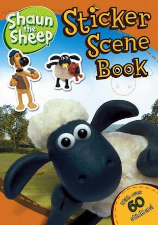 Shaun The Sheep Sticker Scene