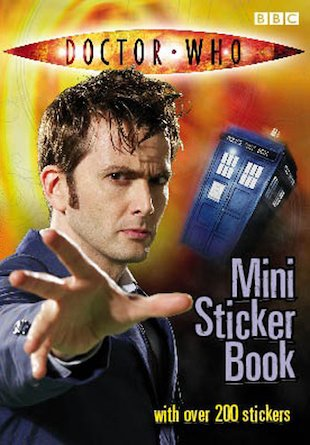 Doctor Who Mini Sticker Book