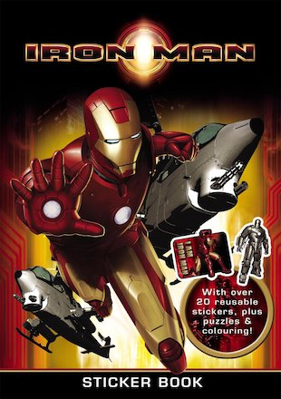Iron Man Sticker Book