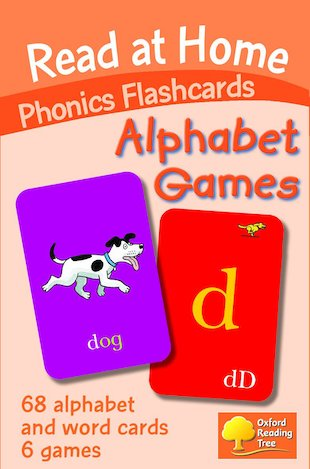 Read at Home Flashcards: Alphabet Games