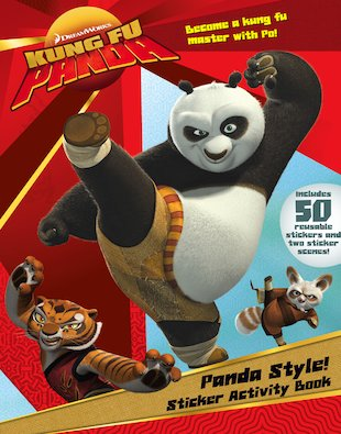Kung Fu Panda Sticker Activity Book