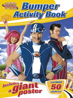 LazyTown Bumper Activity Book