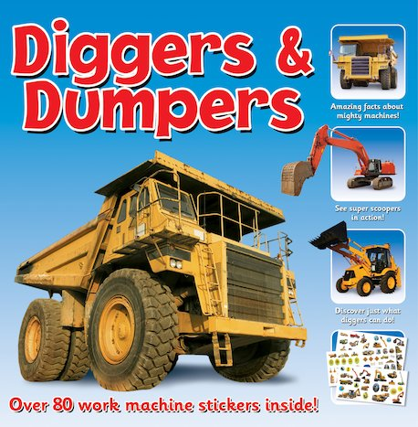 Diggers and Dumpers Sticker Station