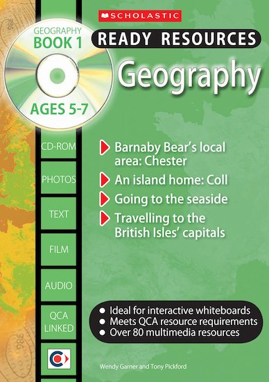 Geography Book 1 and CD-ROM