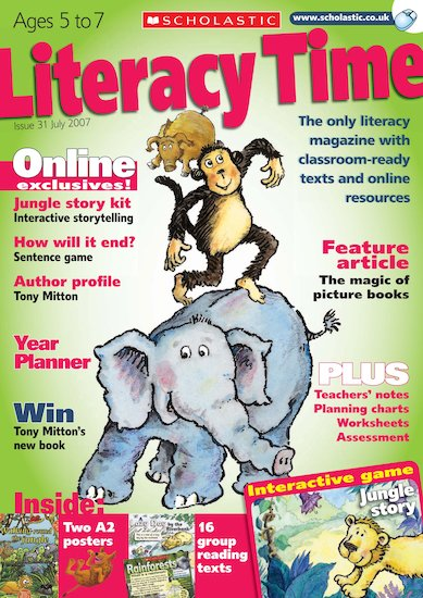Literacy Time Ages 5 to 7 July 2007
