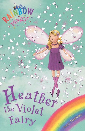 rainbow magic rainbow fairies heather the violet fairy scholastic shop. Black Bedroom Furniture Sets. Home Design Ideas