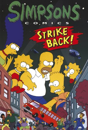 Simpsons Comics: Strike Back!