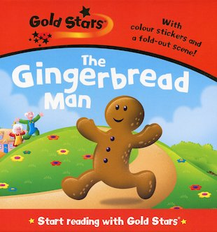 Gold Stars: The Gingerbread Man