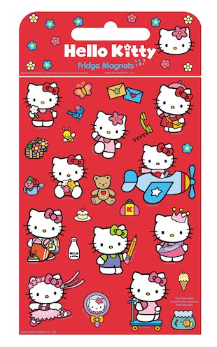 Hello Kitty Fridge Magnets