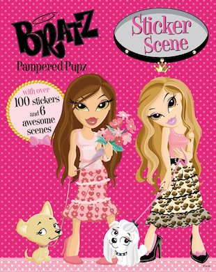 Bratz: Pampered Pupz Sticker Scene