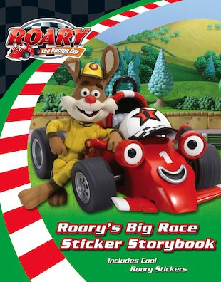 Roary's Big Race Sticker Storybook