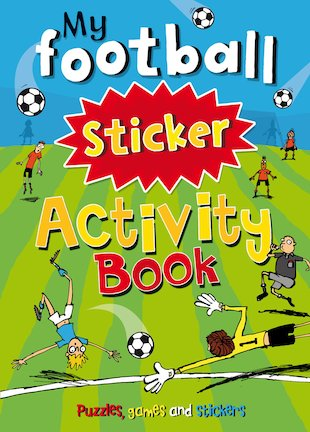 My Football Sticker Activity Book