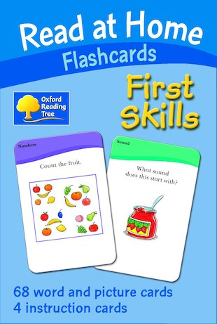 Read at Home Flashcards: First Skills