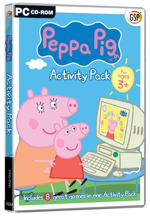 Peppa Pig Activity Pack CD-ROM