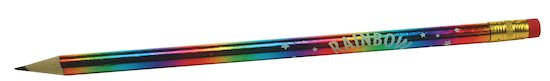 Rainbow Magic sparkly pencil
