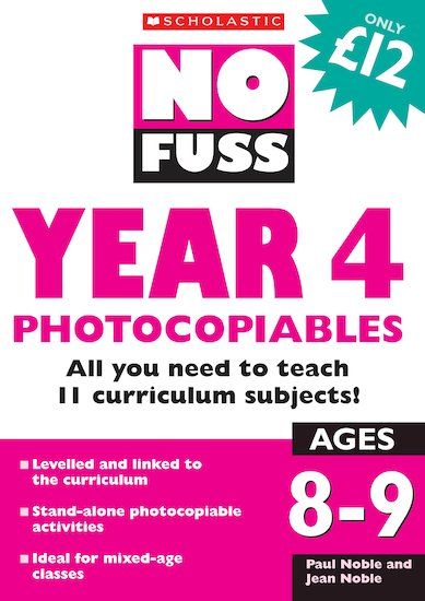 Year 4 Photocopiables