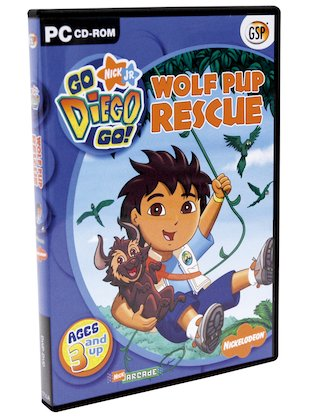 Go Diego Go! Wolf Pup Rescue CD-ROM
