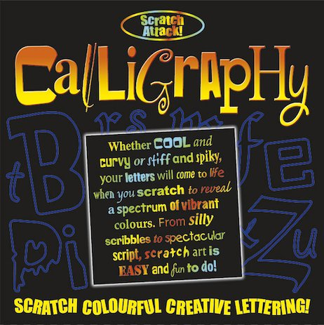 Scratch Attack! Calligraphy