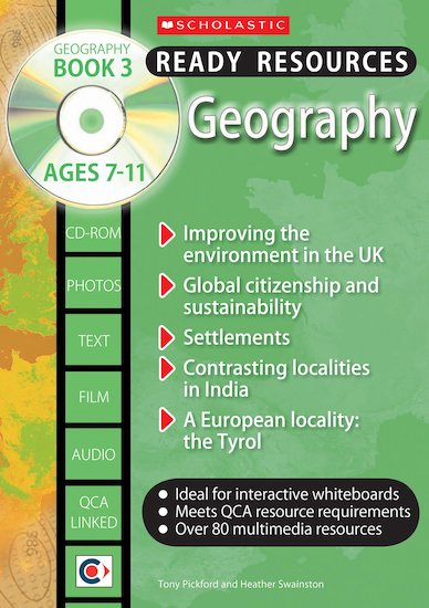 Geography Book 3 and CD-ROM