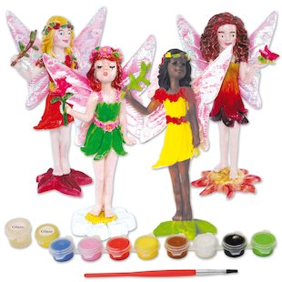 Paint Your Own Magical Fairies