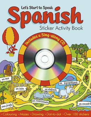 Spanish Sticker Activity Book