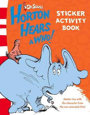 Horton Hears a Who Sticker-Activity Book