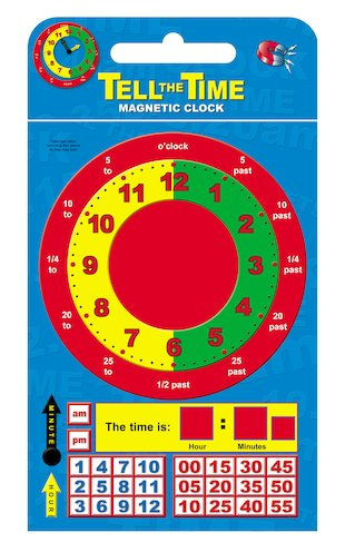 Tell the Time Magnets