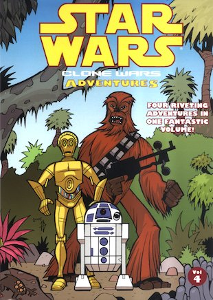 Star Wars: Clone Wars Adventures Vol. 4