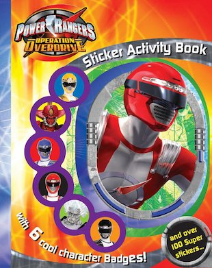 Power Rangers Sticker-Activity Book