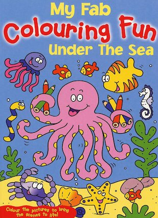 My Fab Colouring Fun: Under the Sea