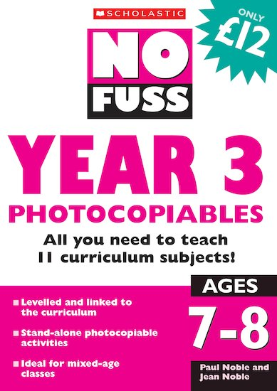 Year 3 Photocopiables