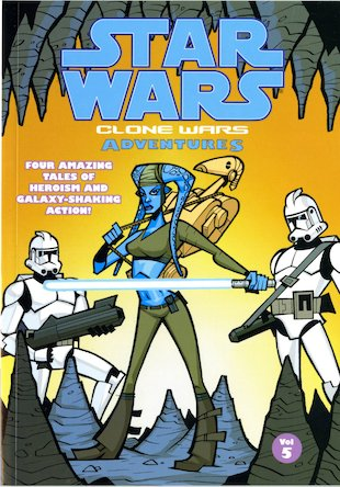 Star Wars: Clone Wars Adventures Vol. 5