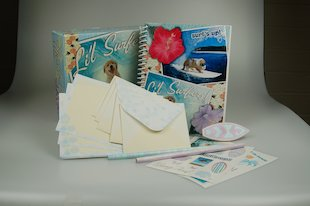 Lil' Surfers Stationery Box
