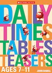 Daily Times Tables Teasers Ages 7-11