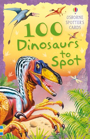 100 Dinosaurs to Spot Cards