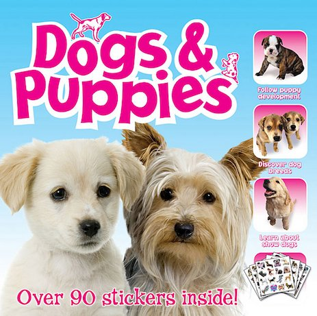 Dogs and Puppies Sticker Book