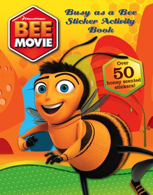 Bee Movie Sticker Activity Book