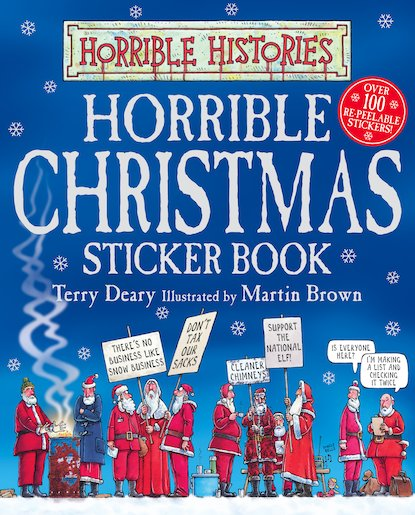 Horrible Christmas Sticker Book