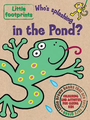 Little Footprints: Who's Splashing in the Pond?