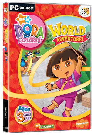 Dora's World Adventure CD-ROM