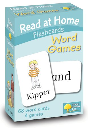 Read at Home Flashcards: Word Games
