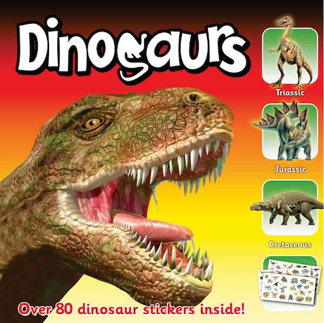Dinosaurs Sticker Station