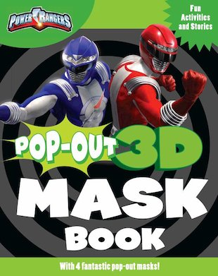Power Rangers Pop-Out 3D Mask Book