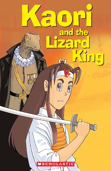 Kaori and the Lizard King (Book only)